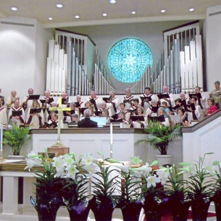 Traditional Service in Sanctuary